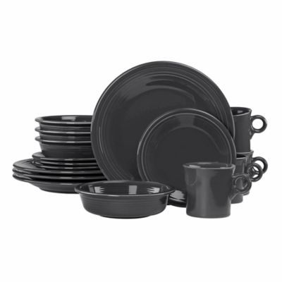 Fiesta® 16-Piece Dinnerware Set in Slate