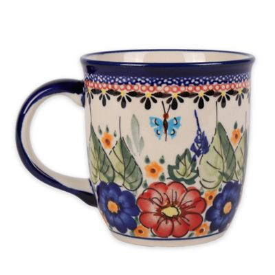 Pottery Avenue Butterfly Merry Making Mug