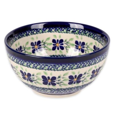 Blue Green Cereal Bowl