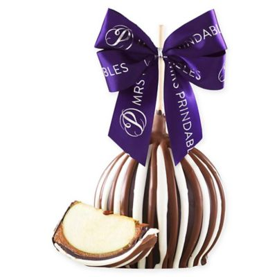 Mrs. Prindable's Triple Chocolate Signature Jumbo Caramel Apple