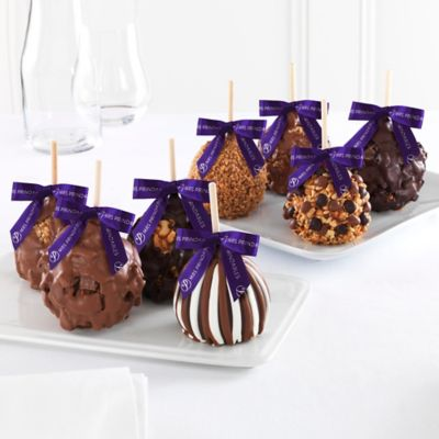 Mrs. Prindable's 8-Pack Signature Petite Caramel Apple Gift Set