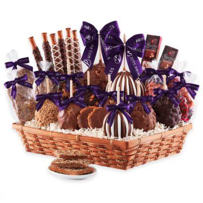 Mrs. Prindable's Classic Indulgence Caramel Apple Basket Gift Set