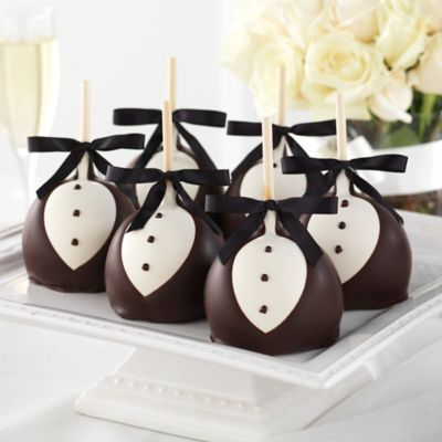 Mrs. Prindable's 12-Pack Black Tie Petite Caramel Apple Gift Set