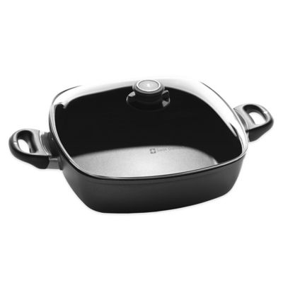 Swiss Diamond® 5 qt. Square Casserole with Lid