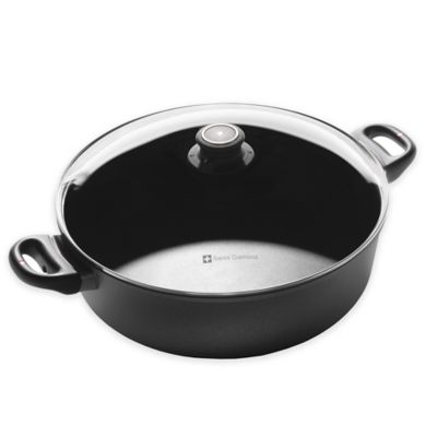 Swiss Diamond® 7.2 qt. Nonstick Braiser with Lid
