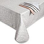 Lenox® Opal Innocence™ Tablecloth and Napkin, 58% Cotton/42% Polyester