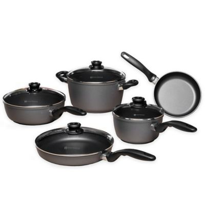 Swiss Diamond® 9-Piece Kitchen Essentials Cookware Set