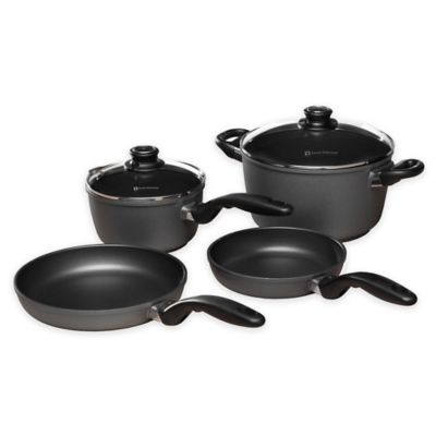 Swiss Diamond 174 6 Piece Newlywed Kitchen Cookware Set
