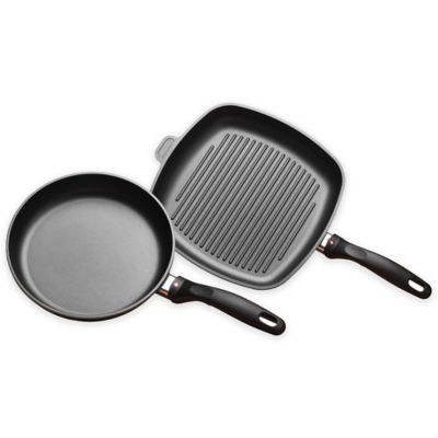 Swiss Diamond® Fry and Grill 2-Piece Pan Set