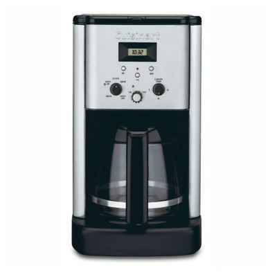 Grind And Brew Coffee Maker Bed Bath And Beyond : Cuisinart Brew Central 12-Cup Programmable Coffee Maker - Bed Bath & Beyond