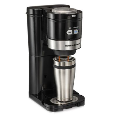 Hamilton Beach® Grind and Brew Single Serve Coffee Maker