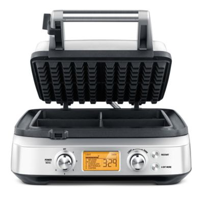 Breville® The Smart Waffle™ Pro 4 Slice