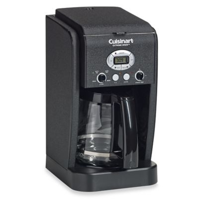 Cuisinart® Extreme Brew™ 12-Cup Programmable Coffeemaker in Black Wrinkle