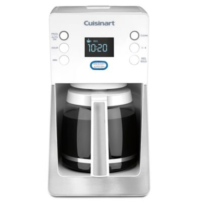 Cuisinart Coffee Maker In White : Cuisinart Perfec Temp 14-Cup Coffee Maker in White - Bed Bath & Beyond