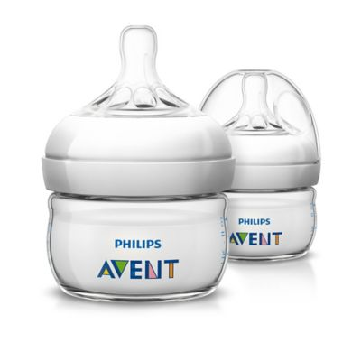 AVENT Natural 2-Pack 2 oz. Bottles