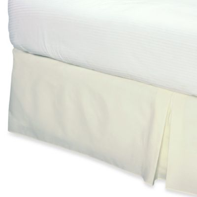 Smoothweave™ Queen Bed Skirt in Ivory