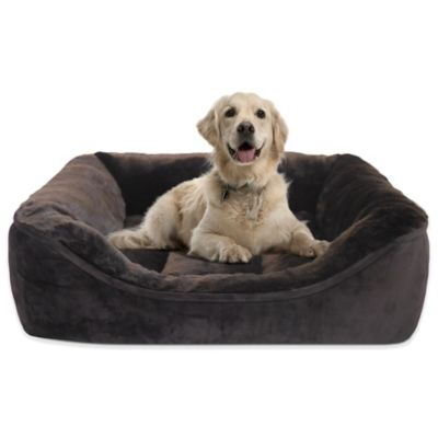 Luxurious Beaver Fur 34-Inch x 25-Inch Cuddler Bed