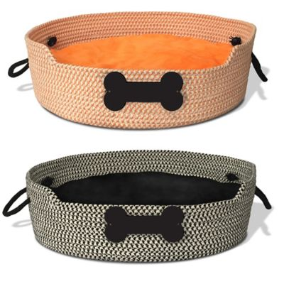 Bombay™ Rope Basket Bed in Orange
