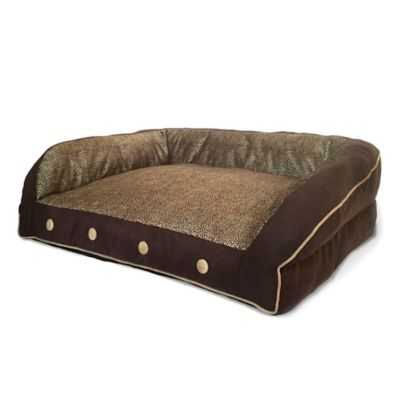 Bombay™ Koko Couch Pet Bed in Brown