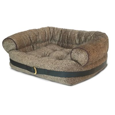 Bombay™ Kyley Couch Pet Bed in Leopard Print