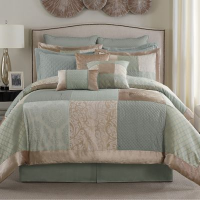 Deluca 12-Piece California King Comforter Set