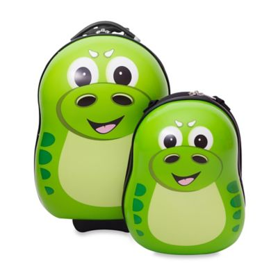 Dinosaur 2-Piece Kids Trolley Luggage Set