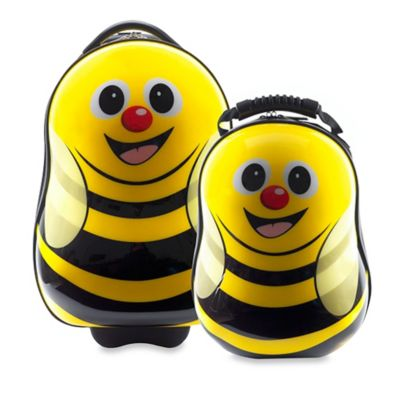 Bumble Bee 2-Piece Kids Trolley Luggage Set