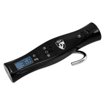 Heys® xScale® LITE Portable Luggage Scale and Flashlight in Black
