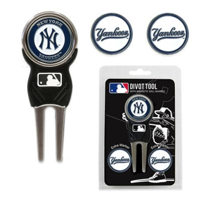 MLB New York Yankees Divot Tool with Markers Pack