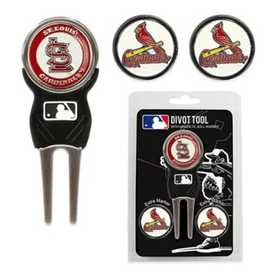 MLB St. Louis Cardinals Divot Tool with Markers Pack