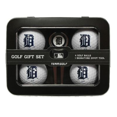 MLB Detroit Tigers 5-Piece Golf Ball and Divot Tool Set