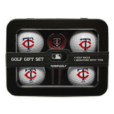 MLB Minnesota Twins 5-Piece Golf Ball and Divot Tool Set