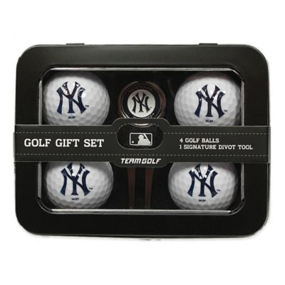 MLB New York Yankees 5-Piece Golf Ball and Divot Tool Set