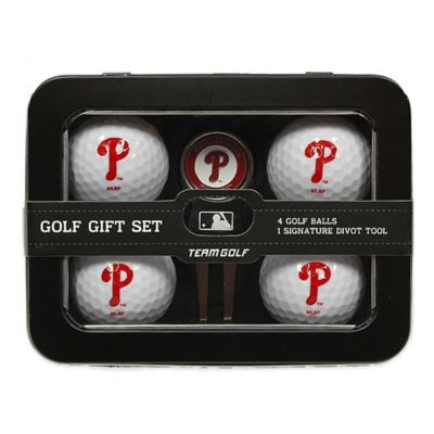 MLB Philadelphia Phillies 5-Piece Golf Ball and Divot Tool Set