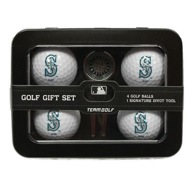 MLB Seattle Mariners 5-Piece Golf Ball and Divot Tool Set