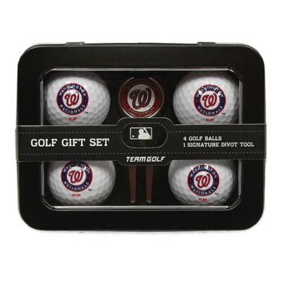 MLB Washington Nationals 5-Piece Golf Ball and Divot Tool Set
