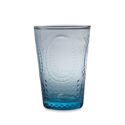 Home Essentials Vintage Hobnail Juice Glass in Blue
