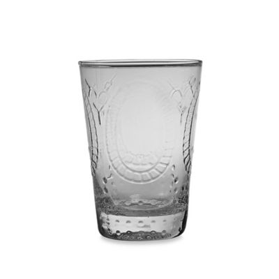 Home Essentials Vintage Hobnail Juice Glass in Clear