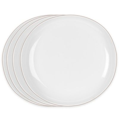 Portmeirion® Ambiance Dinner Plates in Stone (Set of 4)