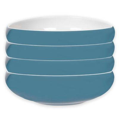 Portmeirion® Ambiance Pasta Bowls in Aqua (Set of 4)