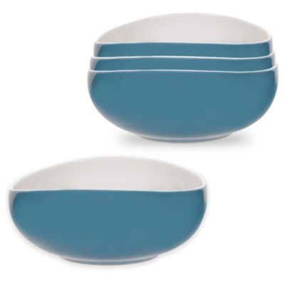 Portmeirion® Ambiance Bowls in Aqua (Set of 4)