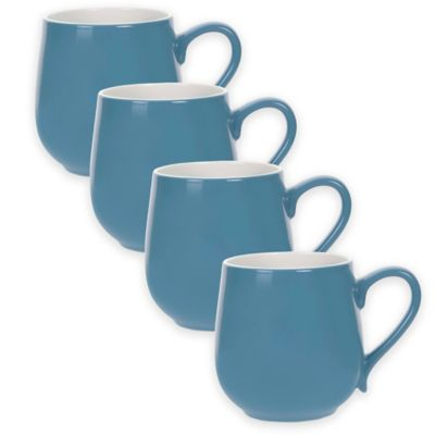 Portmeirion® Ambiance Mugs in Aqua (Set of 4)