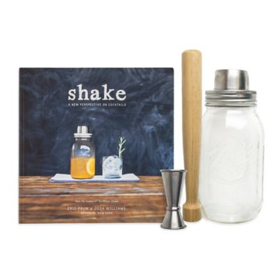 The Mason Shaker 4-Piece Barware Set