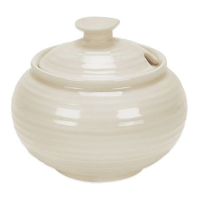 Sophie Conran for Portmeirion Covered Sugar Bowl in Pebble