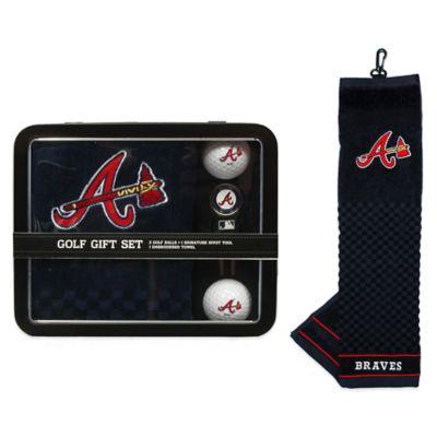 MLB Atlanta Braves Golf Ball Gift Set