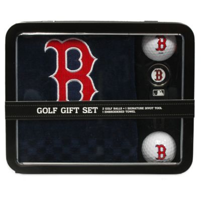 MLB Boston Red Sox Golf Ball Gift Set