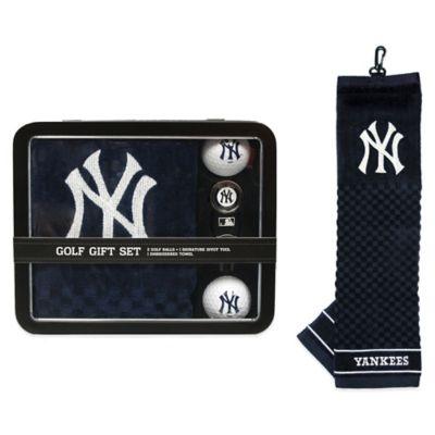 MLB New York Yankees Golf Ball Gift Set