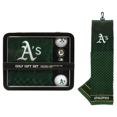 MLB Oakland Athletics Golf Ball Gift Set
