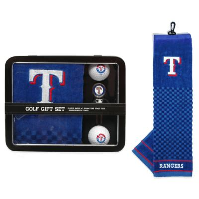 MLB Texas Rangers Golf Ball Gift Set
