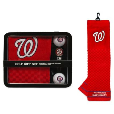 MLB Washington Nationals Golf Ball Gift Set